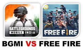 BGMI vs Free Fire : न्यू अपडेट के बाद 3 GB एंड्रॉयड डिवाइज में कोनसा गेम बेहतर है ?