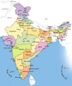 भारत की जनसंख्या कितनी है? और और भारत के सबसे बड़ा व छोटा राज्य कोंनसे है। Population of India