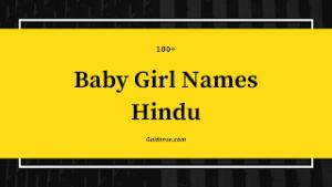 Baby Girl Names Hindu – हिंदू लड़कियों के नाम Top110+